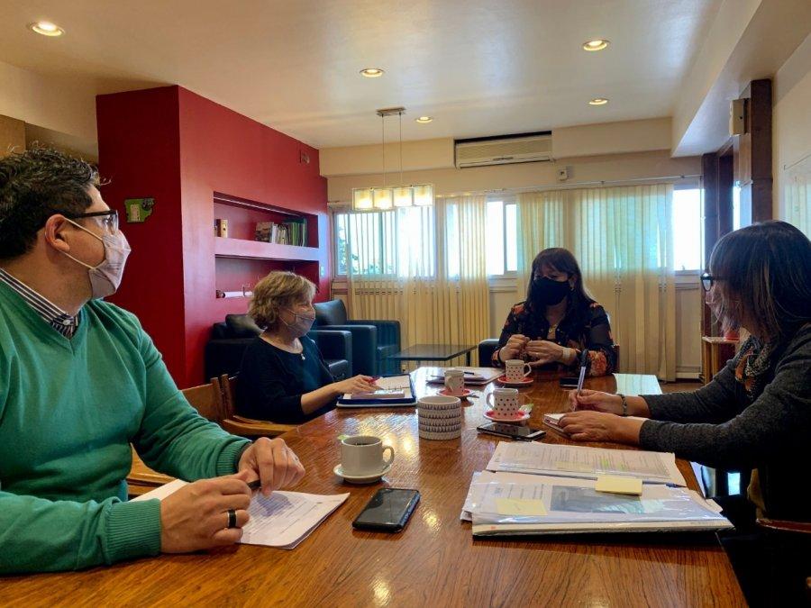 El equipo de gestión de Educación trabaja sobre los temas prioritarios del segundo semestre