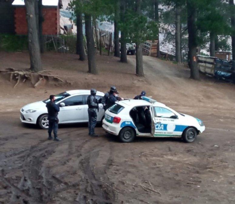 Tres detenidos en un violento tiroteo en Esquel. Foto: Diario Jornada