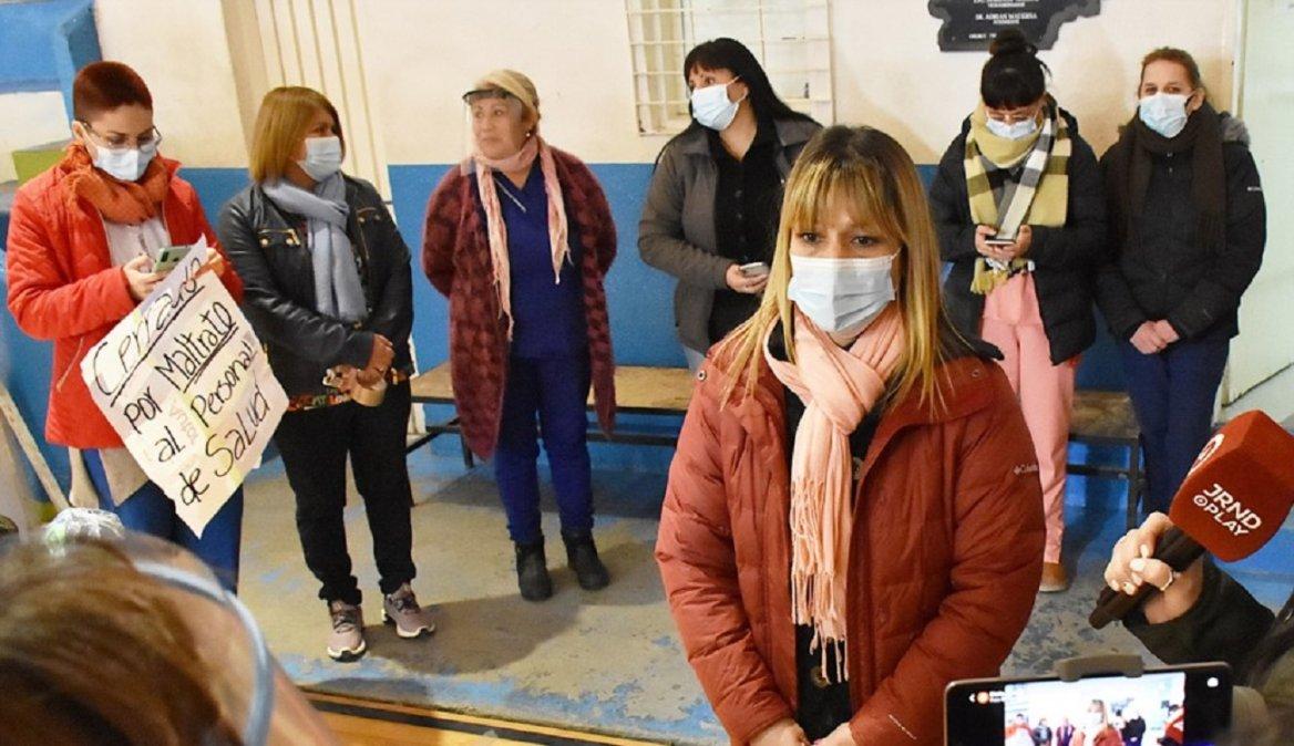Trabajadores cerraron un centro de vacunación hasta que les garanticen seguridad