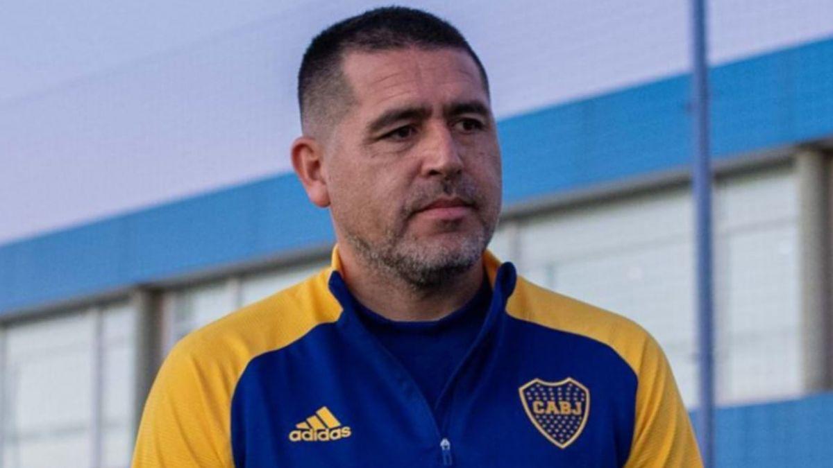 Juan Román Riquleme. vicepresidente de Boca.