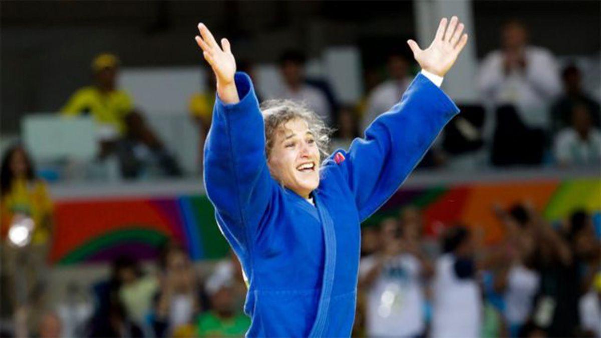 Paula Pareto competirá el primer día oficial en judo.