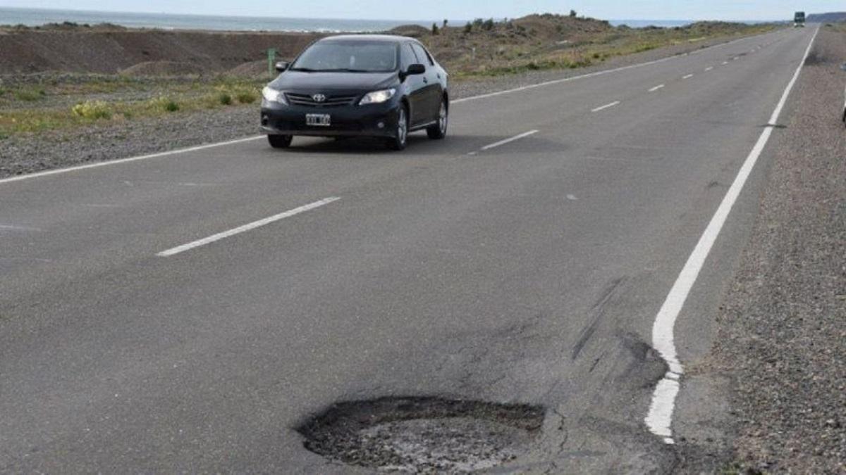 Ratificaron la multa contra Vialidad Nacional por no reparar la Ruta 3.