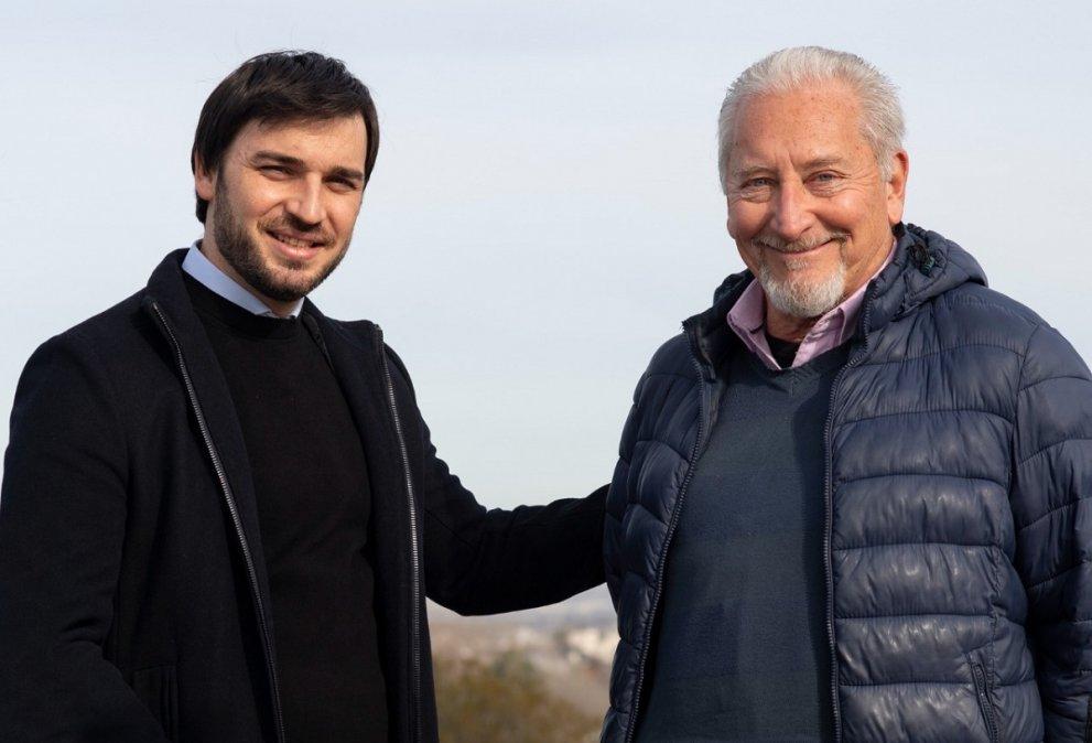 Ignacio Torres junto a Claudio Cabrera.