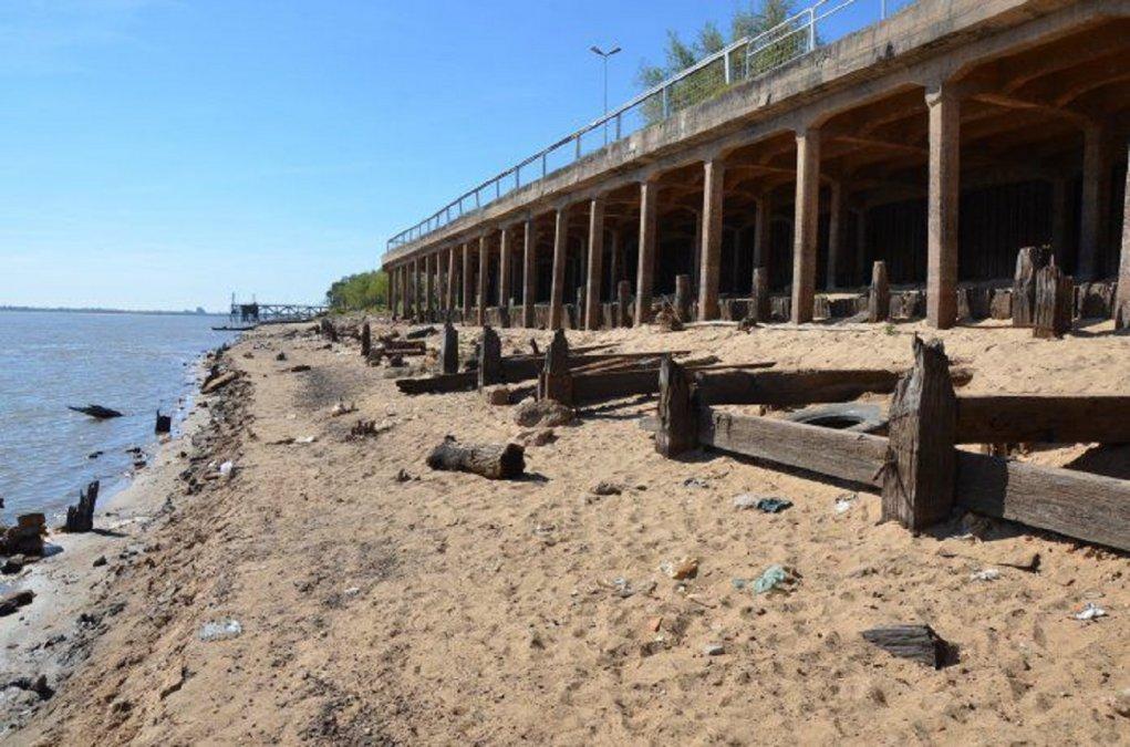 Decretarán emergencia hídrica por la bajante del Río Paraná