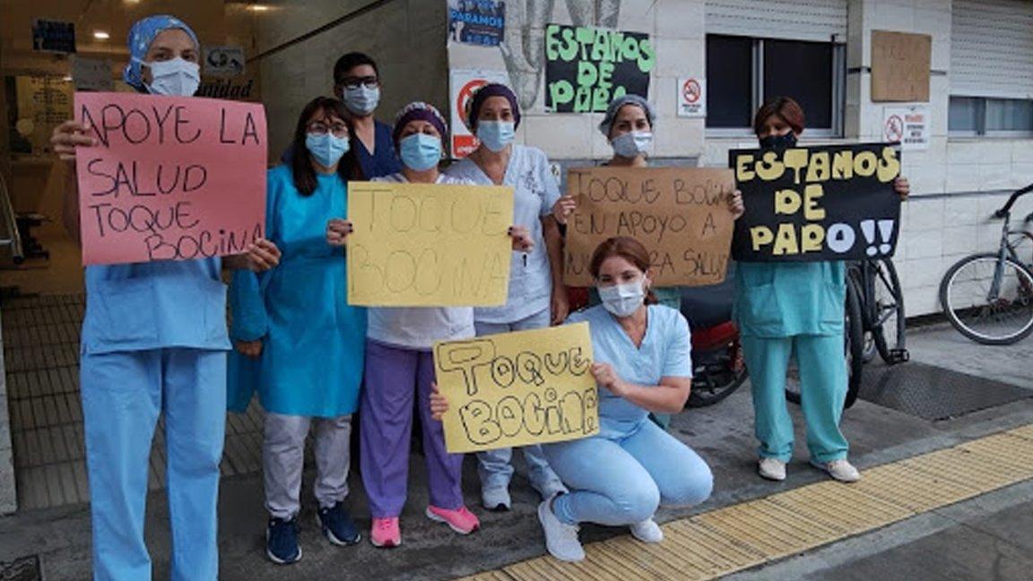 La Federación de Trabajadores de la Sanidad convocaron a un paro de 24 horas el jueves