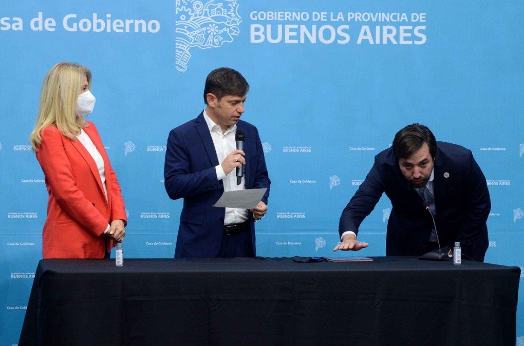 El gobernador bonaerenseAxel Kicillofpuso en funciones aNicolás Kreplakcomo nuevo ministro de Salud de Buenos Aires.
