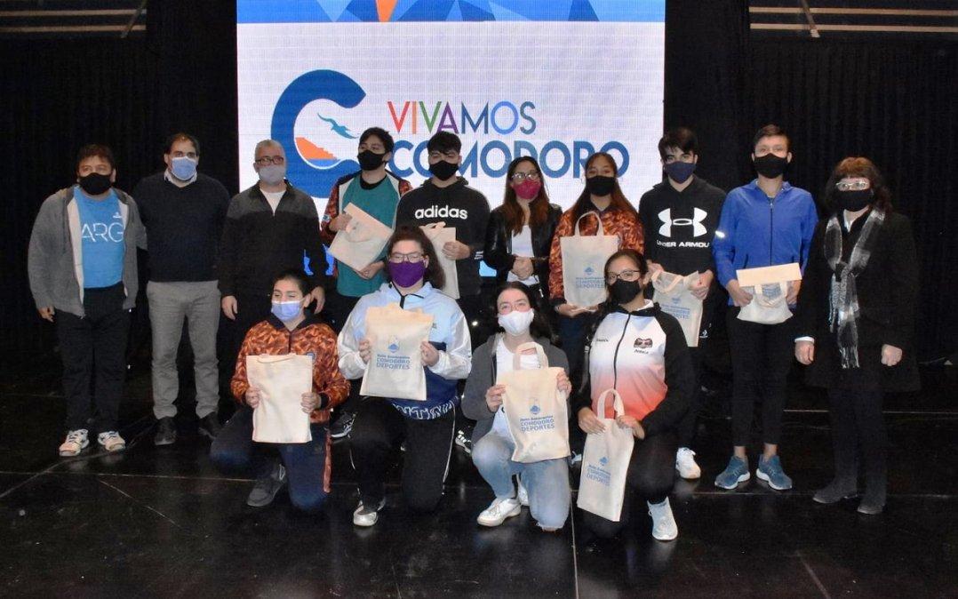 Presentaron el Campus Patagónico de Vóley que se desarrollará en Comodoro.
