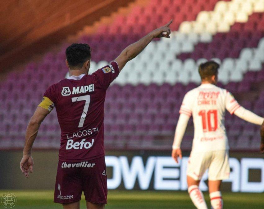 Lanús y Unión empataron 1-1 en La Fortaleza Granate.