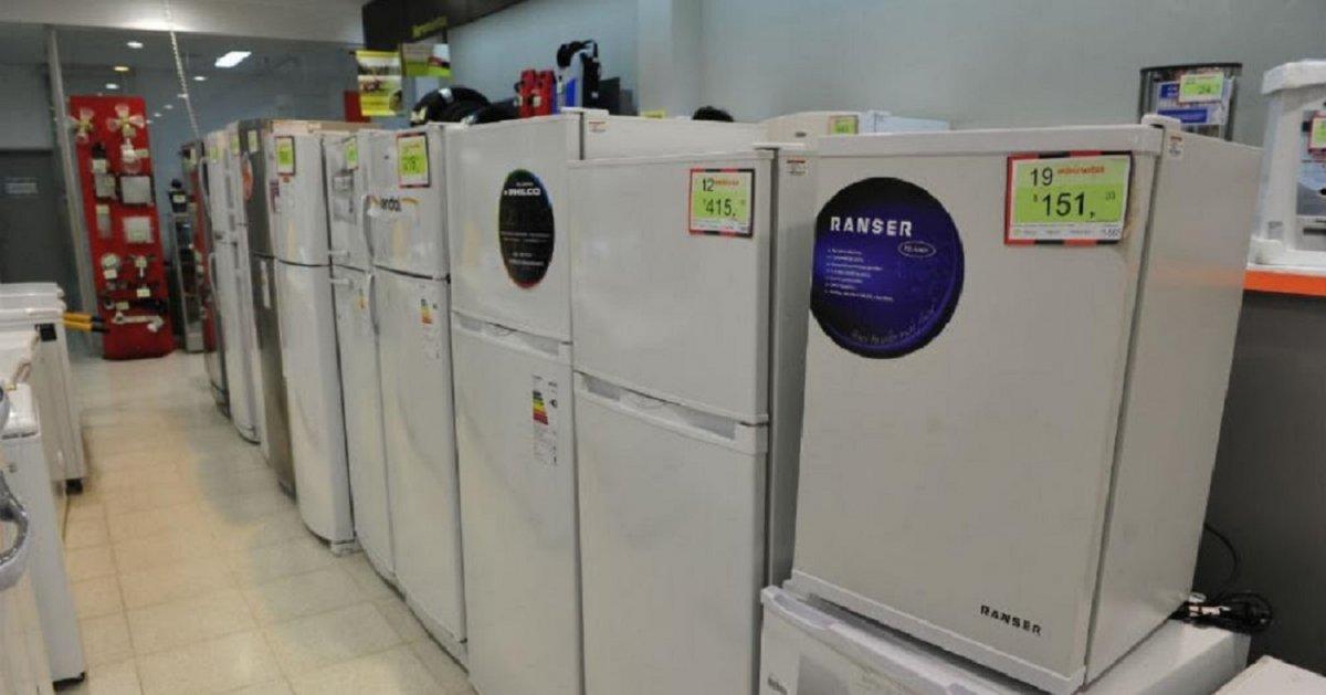 El Banco Nación impulsa una campaña para comprar electrodomésticos.