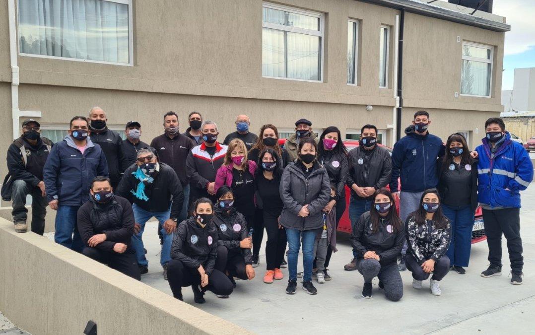 Trabajadoras Jerárquicas y Agrupación Patagonia Austral impulsaron una nueva iniciativa solidaria