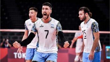 Voley: Argentina venció a Italia en tie break y se clasificó a semifinales