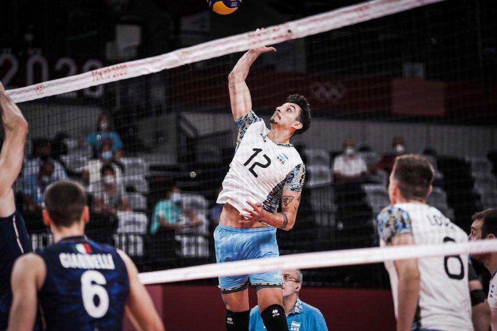 Juegos Olímpicos: Argentina venció a Italia en tie break y se clasificó a semifinales