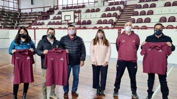 Petroleros Jerárquicos firmó un convenio con Federación Deportiva