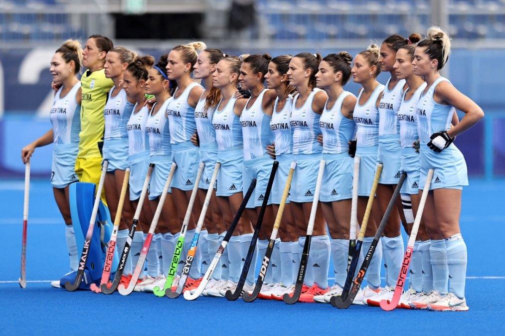 Las Leonas enfrentan a India por una de las semifinales de Tokio 2020.