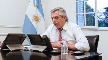 Alberto Fernández se hará otro PCR y regresará a la actividad presencial
