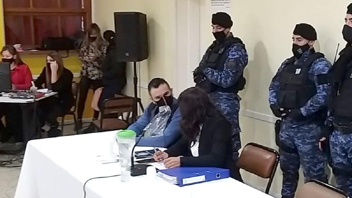 En Esquel comenzó el juicio contraCristian Mai Bustos.