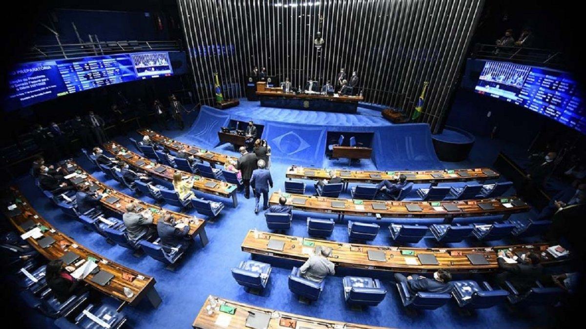El Senado canceló sus sesiones tras el discurso de Bolsonaro