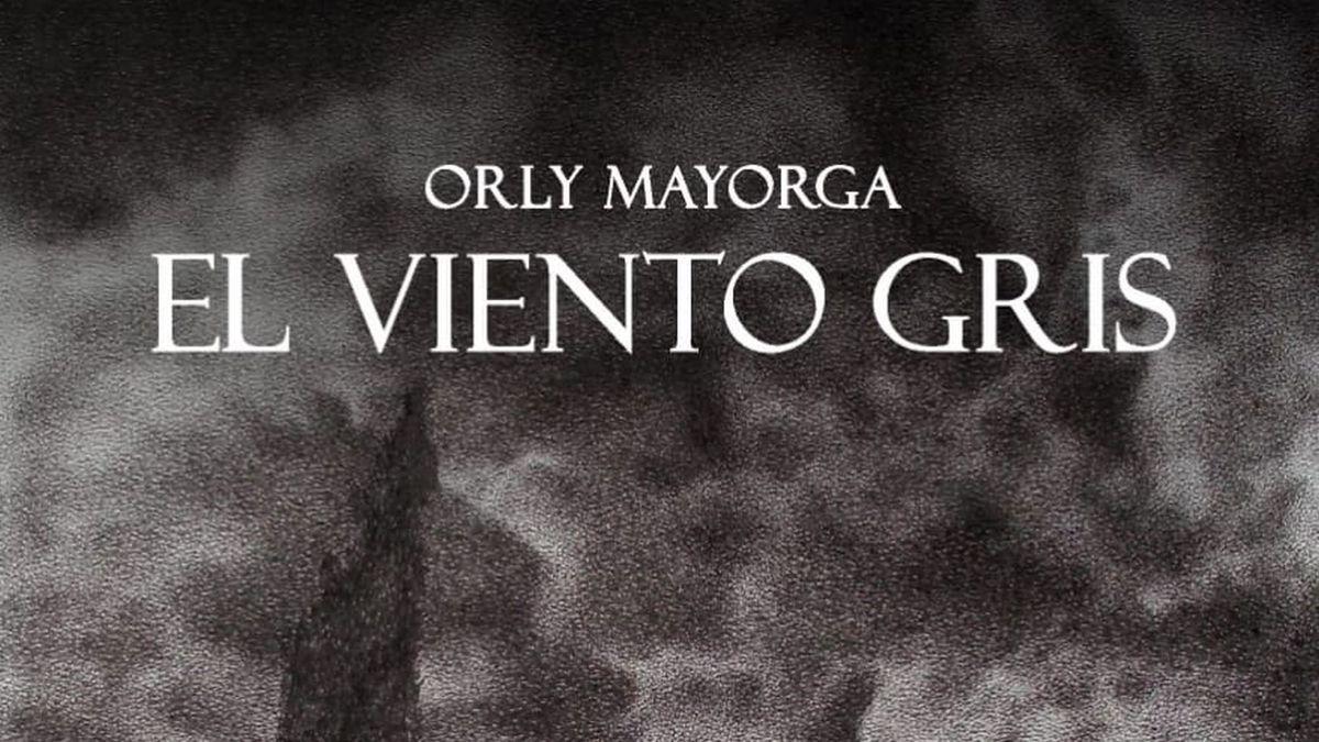 Orly Mayorga presenta su novela El viento Gris