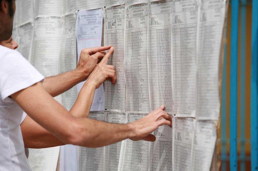 En Chubut hay 448.753 ciudadanos están habilitados para votar el domingo.