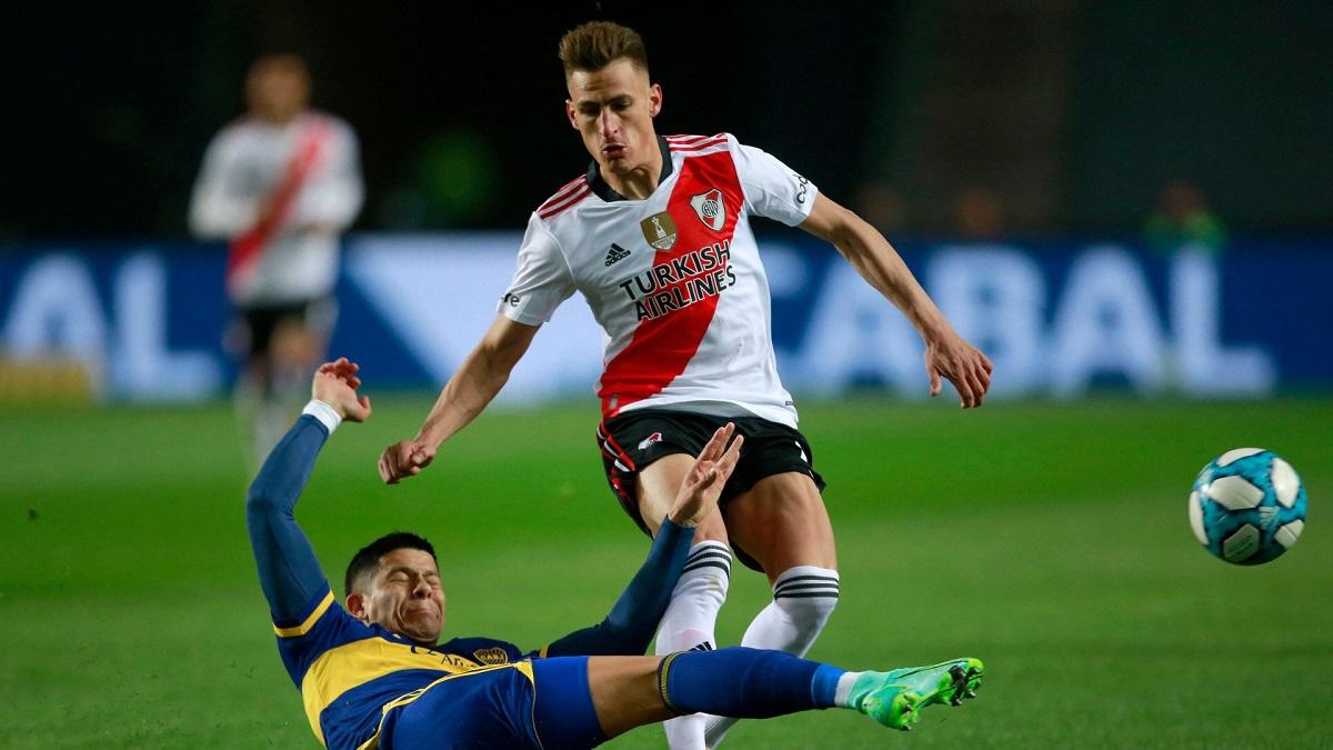 River - Boca se enfrentan en el Monumental el domingo 3 de octubre a las 17 horas por la fecha 14 de la Liga Profesional 2021.