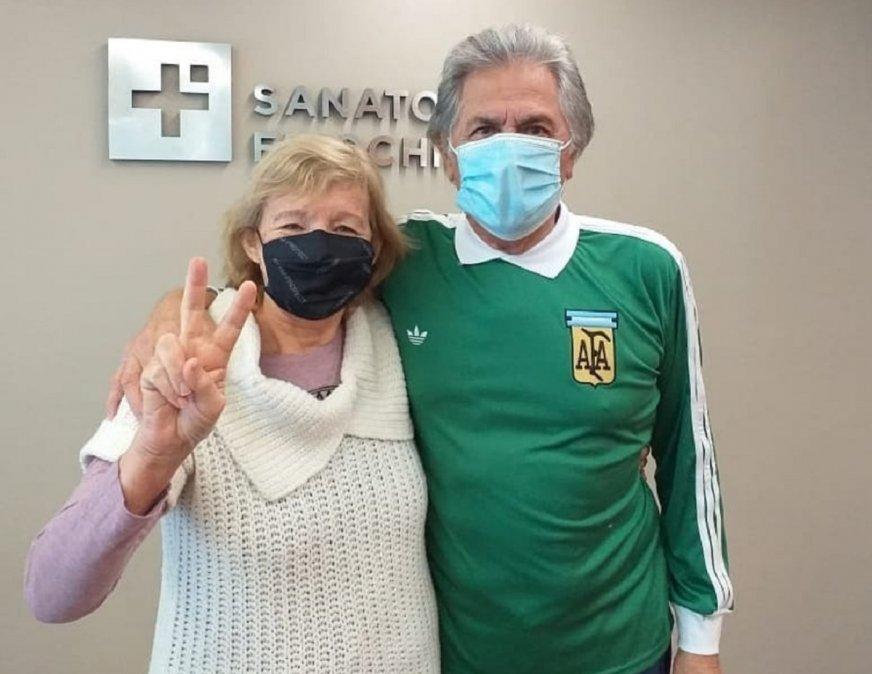 El Pato Fillol recibió el alta tras estar internado por coronavirus.