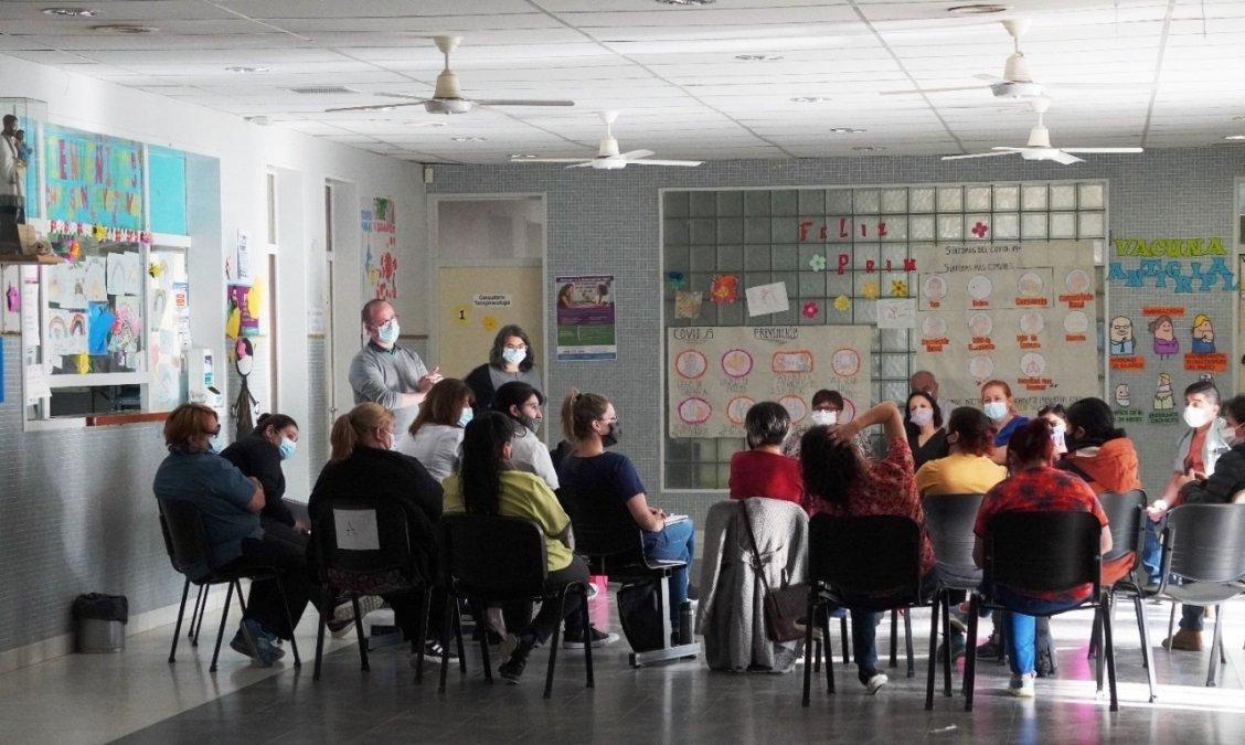 El Gobierno de la Provincia capacitó a Centros de Salud de Comodoro Rivadavia para la realización del test rápido de VIH