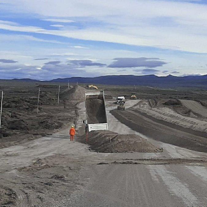 La empresa Contreras comenzó las obras de pavimentación del paso biocéanico en la Ruta 260. En una primera etapa se harán 24 kilómetros