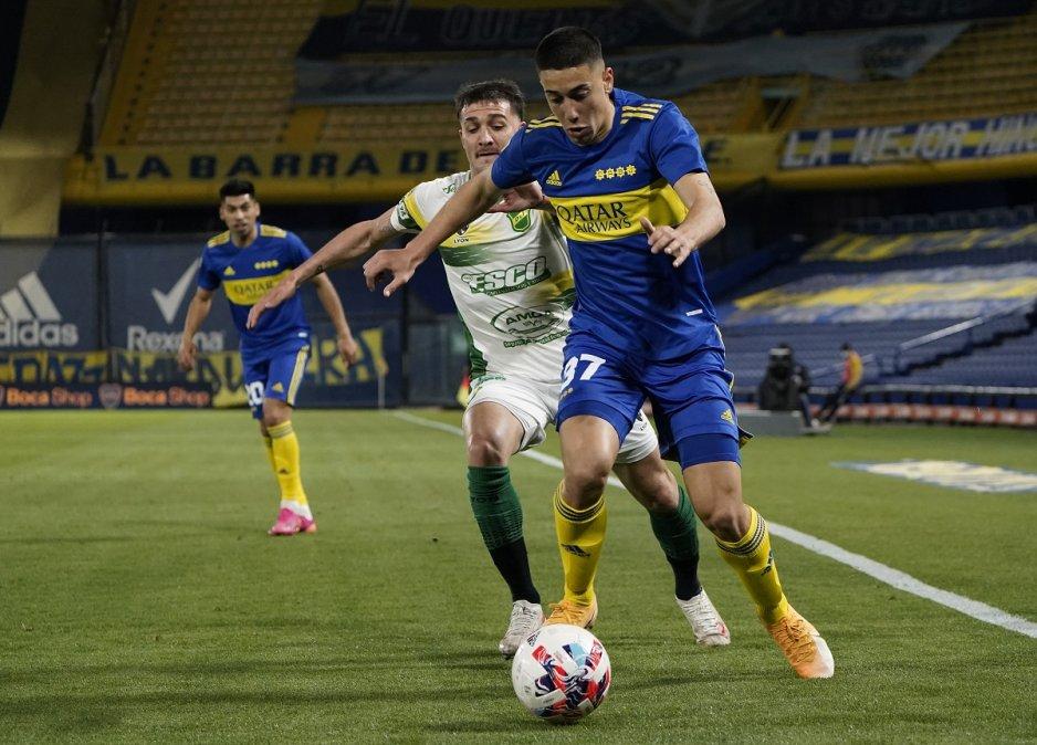 Boca y Defensa y Justicia igualaron sin goles en La Bombonera por la fecha 11 de la Liga Profesional.