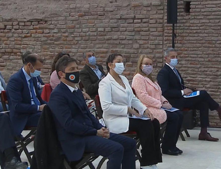 Es la primera vez que tenemos el proyecto en la mano dijo tras la presentación el gobernador Arcioni.