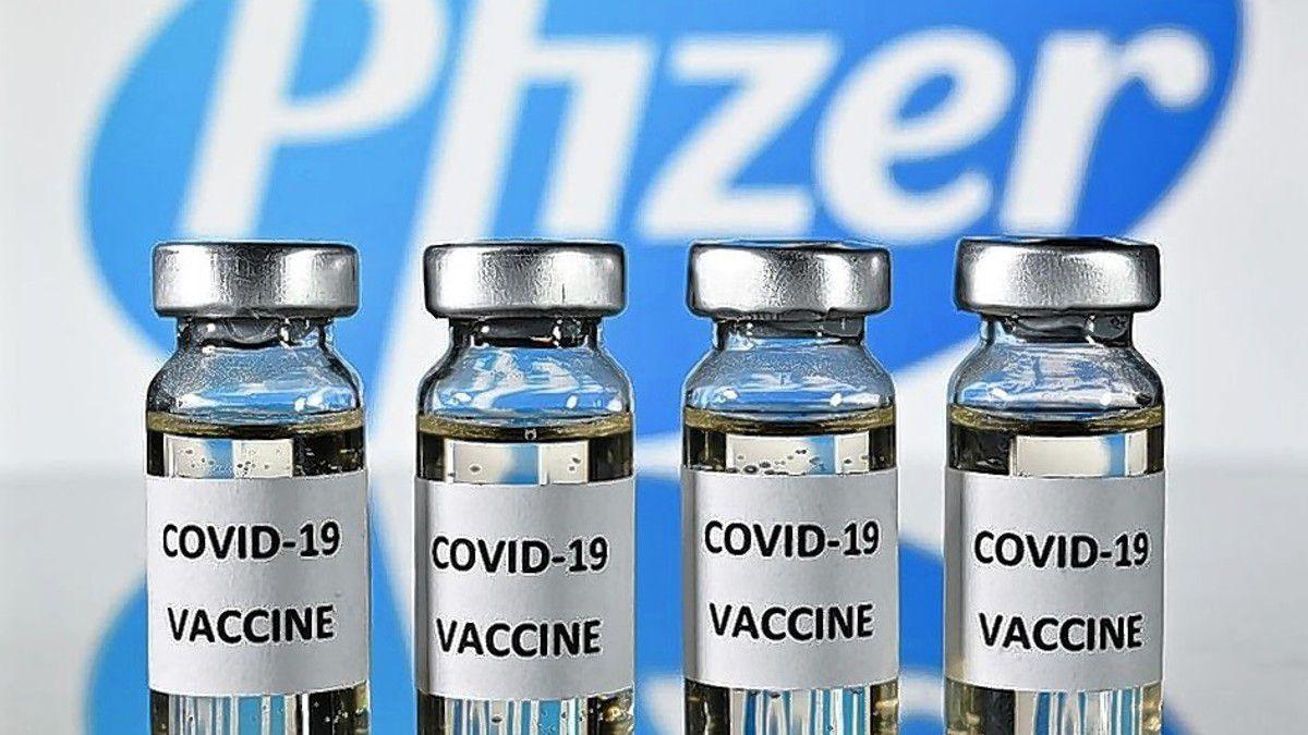Llegaron más de 160 mil vacunas de Pfizer.