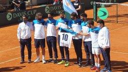 altText(El equipo argentino homenajeó a Maradona)}