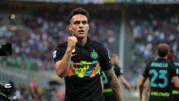 altText(Lautaro Martínez abrió lo que fue goleada del Inter sobre Bologna)}