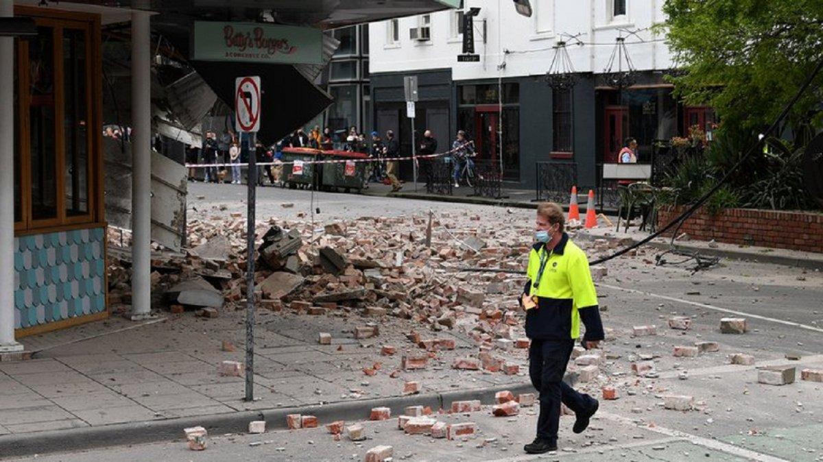 Se produjo un terremoto en Australia con una magnitud de 5
