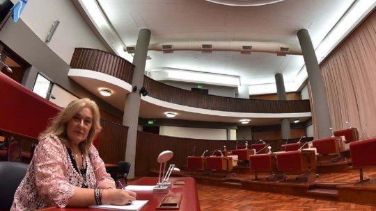 La candidata a senadora por Juntos por el Cambio, Edith Terenzi, se refirió a la solicitud de Caminoa.