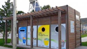 Rada Tilly sumó un EcoPunto al sistema de separación de residuos