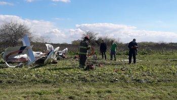 Dos muertos tras caer una avioneta en Hudson