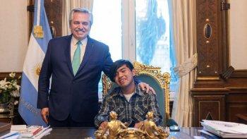 El Presidente recibió al joven wichi nominado a premio internacional