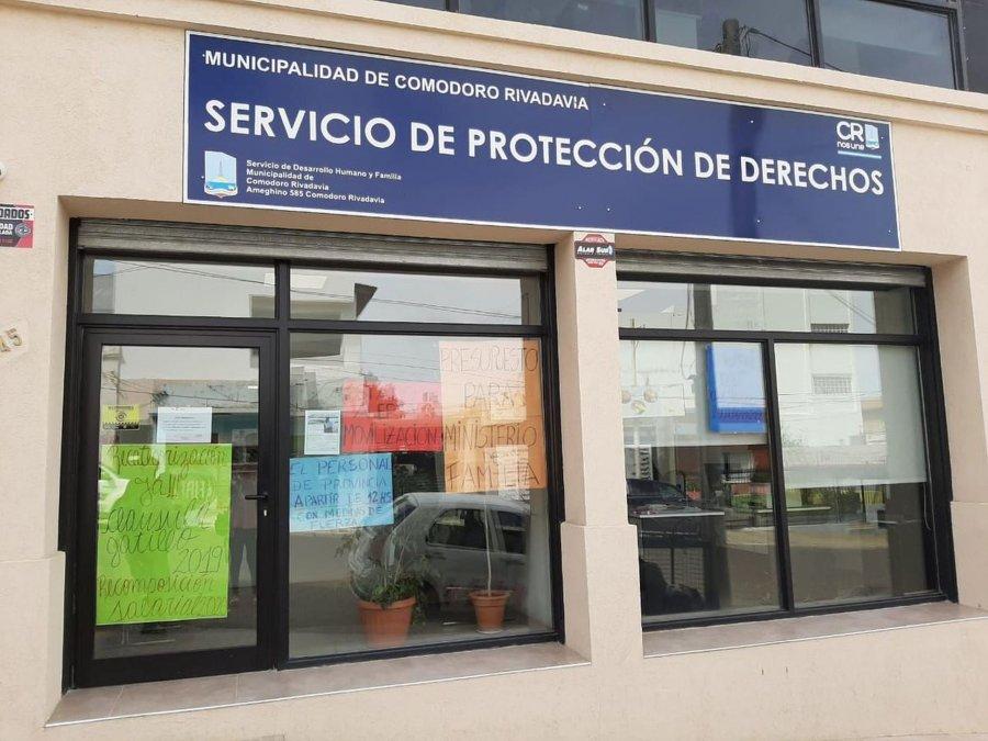 El servicio de protección inicia una medida de fuerza