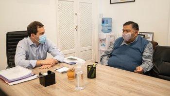 Luque recibió a Jorge Avila para avanzar en gestiones conjuntas