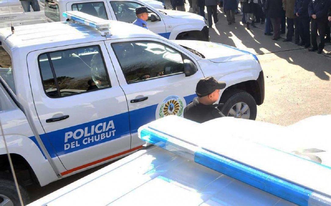 Incorporarán 280 camionetas para la Policía del Chubut. Foto: Radio 3 Cadena Patagónica