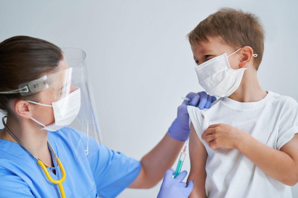 El martes empiezan a vacunar a niños de 3 a 11 años