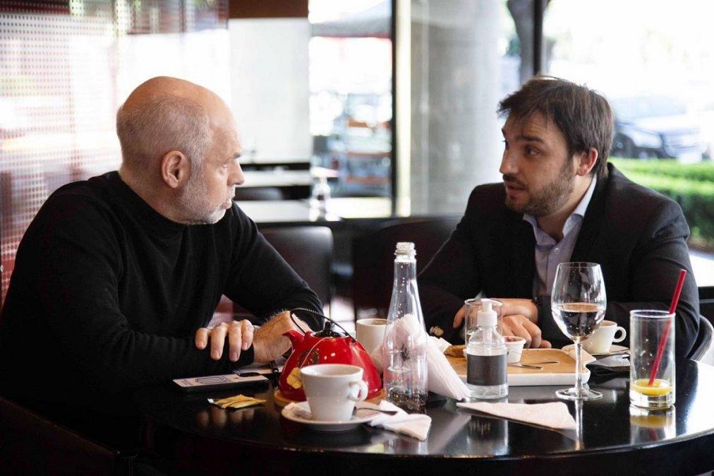 Torres se reunió con Larreta para analizar la situación económica de la Provincia de Chubut.