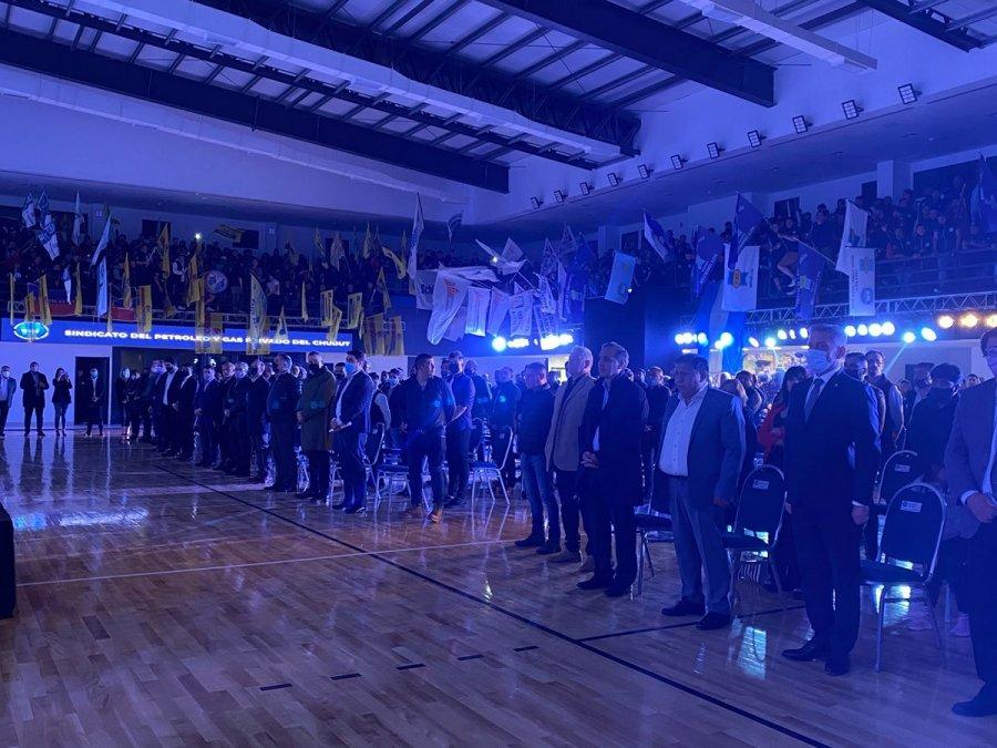 Inauguraron el gimnasio de Petroleros Privados en Km.5.