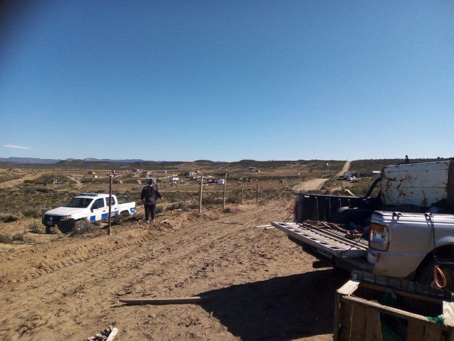 Intentaron usurpar un terreno en el kilómetro 15.