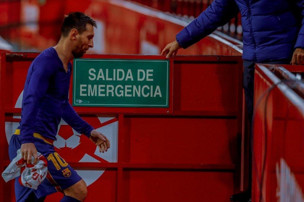 Lionel Messi jugó más de 20 años en el Barcelona