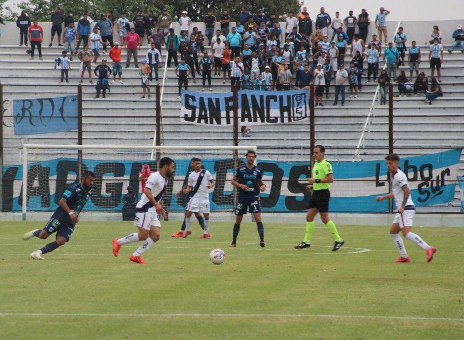 Brown de Madryn perdió con Gimnasia en Jujuy. Foto: Prensa GyE.