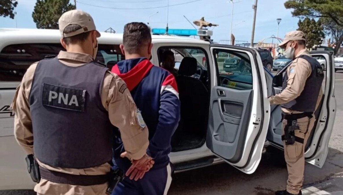 Efectvios de Prefectura Naval de Puerto Madryn detuvieron a un narco brasileño buscado por Interpol. (Foto diario El Chubut).