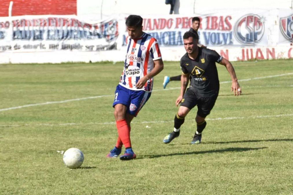 Deportivo Madryn perdió con Sportivo Peñarol en San Juan pero sigue puntero.