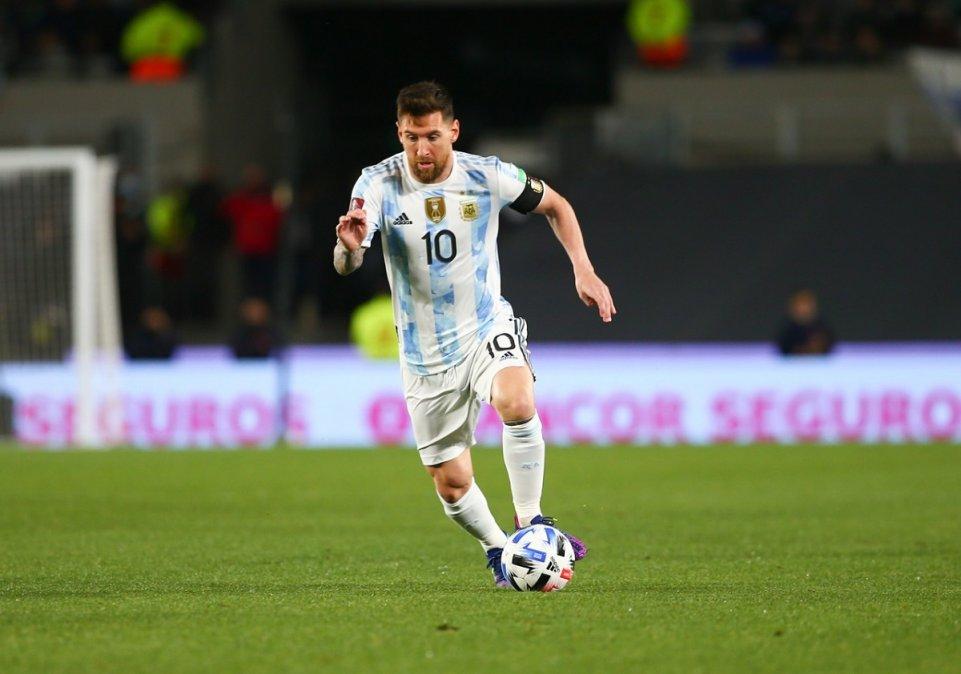 Lionel Messi llegó a seis goles con la camiseta de la Selección Argentina en las Eliminatorias para Qatar 2022.
