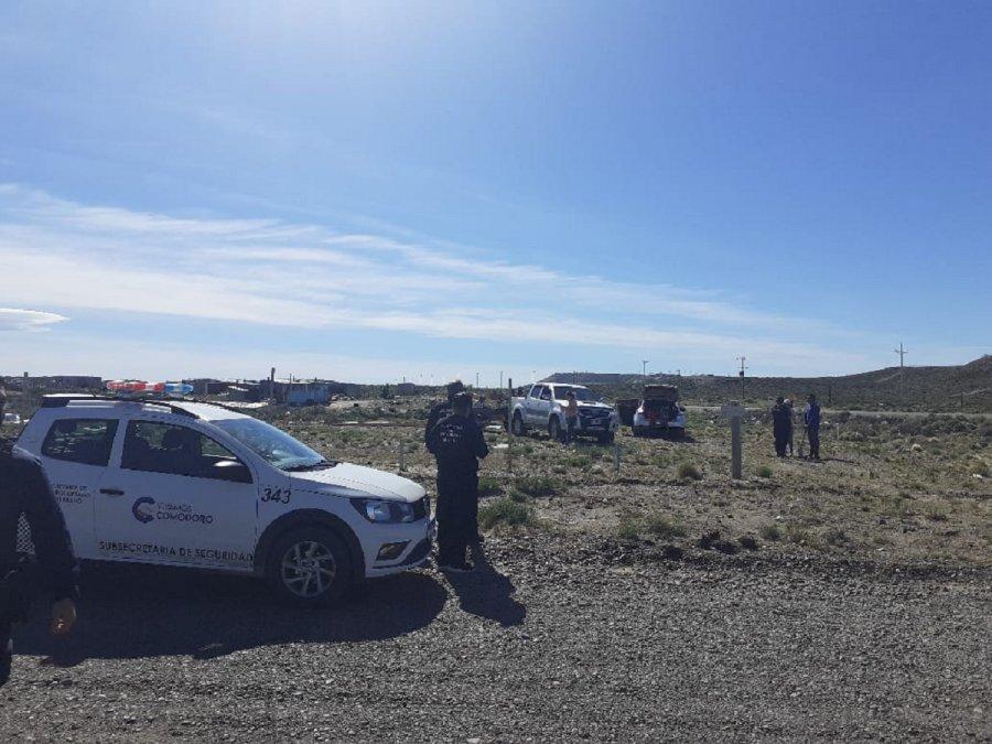 Efectivos de la policía provincial abortaron una usurpación de tierras en la zona de El Faro